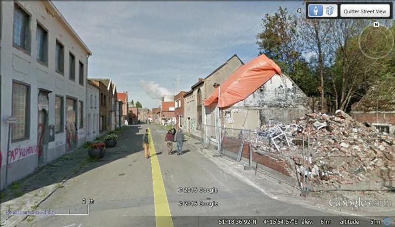 Les étranges graffitis d'un village fantôme. Doel en Belgique Y10
