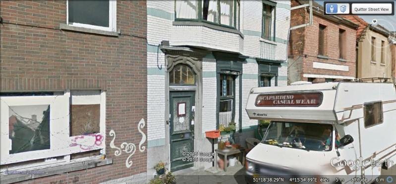 Les étranges graffitis d'un village fantôme. Doel en Belgique Z710