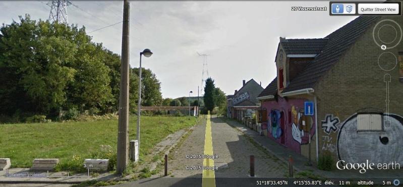 Les étranges graffitis d'un village fantôme. Doel en Belgique Zz10