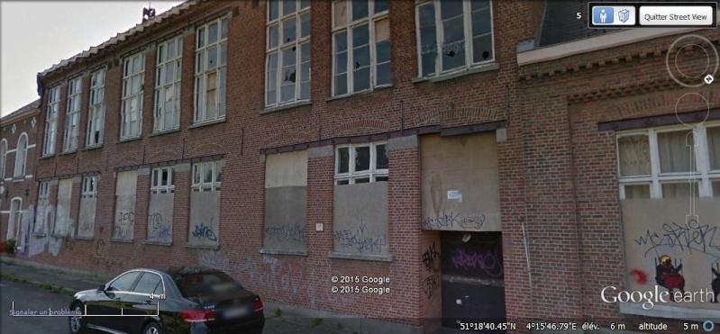Les étranges graffitis d'un village fantôme. Doel en Belgique Zzz12