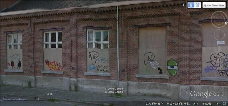 Les étranges graffitis d'un village fantôme. Doel en Belgique Zzzzzz11