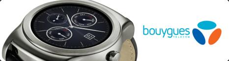 La LG Watch Urbane Silver en précommande chez Bouygues Telecom 14302110