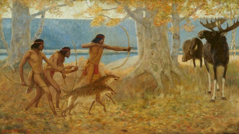 L'élan et les pratiques de chasse  Edwin_10