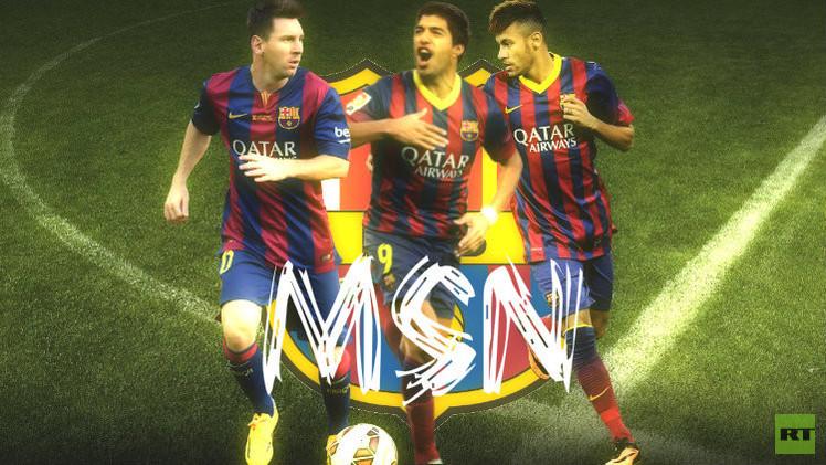 ثلاثي برشلونة الهجومي MSN.. طوفان يصعب إيقافه 55534810