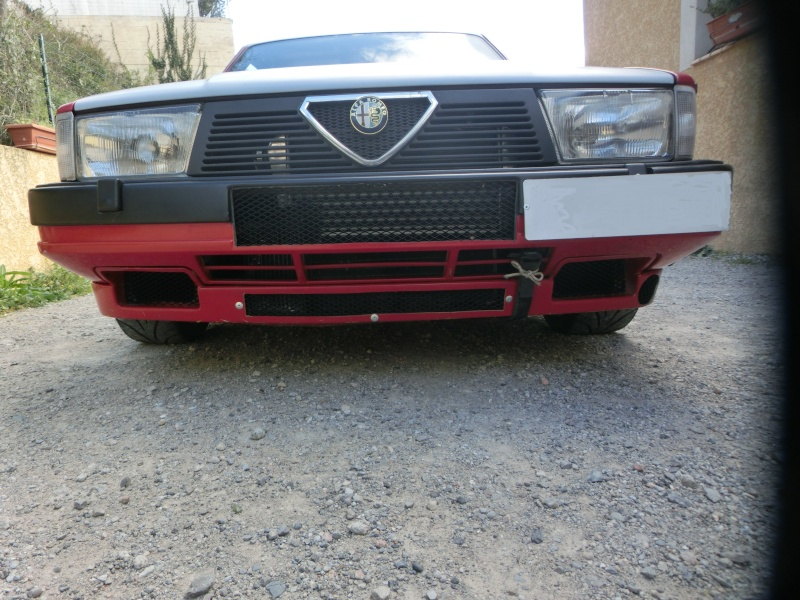 Alfa 75 turbo rouge de piste Cimg1610