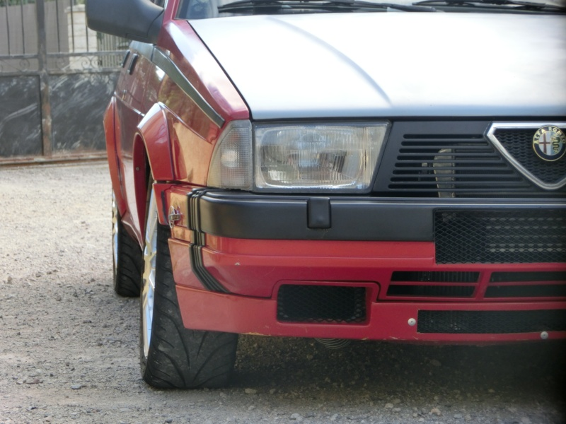 Alfa 75 turbo rouge de piste Cimg1612