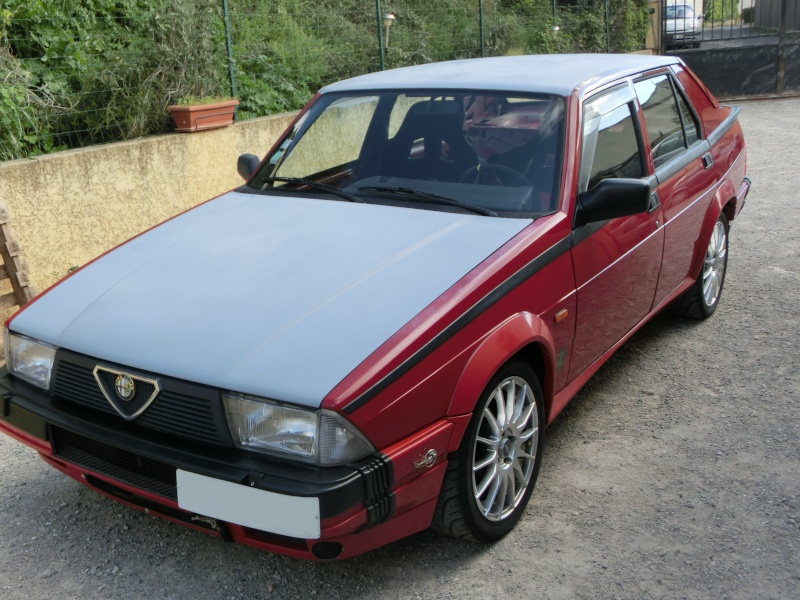 Alfa 75 turbo rouge de piste Cimg1613