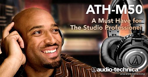 Audio technica ATH-M50 Captur20