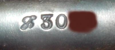 Mon Berthier 07/15 3 coups marqué M16 avec garde main Matric10