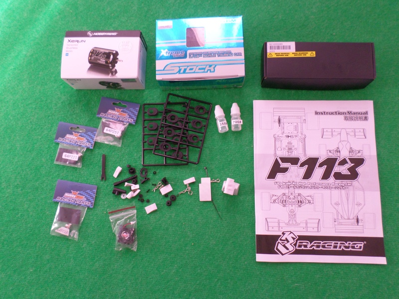 VENDS kit monté F1 1/10 3racing F113  (neuf)  Sam_1816
