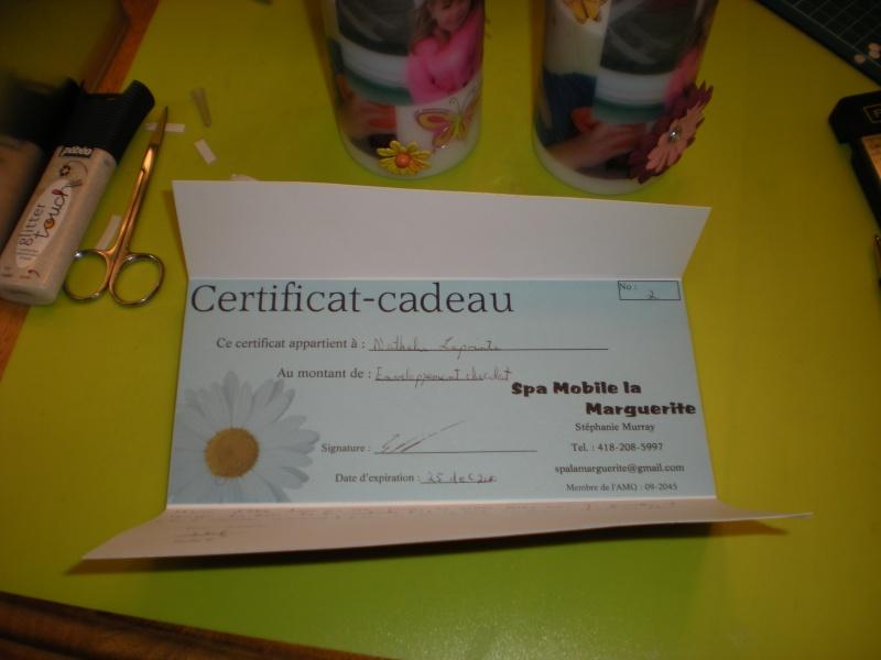 Carte certificat cadeau - Page 2 Dscn2214