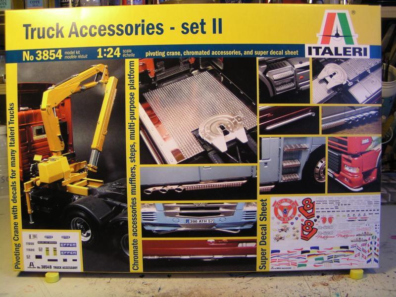 Truck Acessoires Set 2 von Italeri 56210