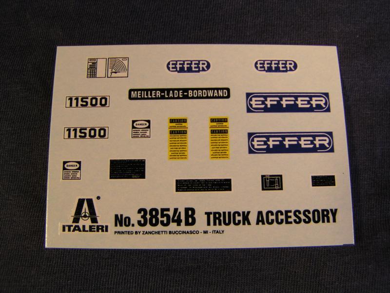 Truck Acessoires Set 2 von Italeri 57110