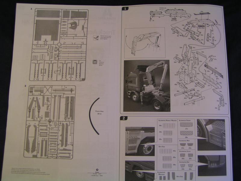 Truck Acessoires Set 2 von Italeri 58010