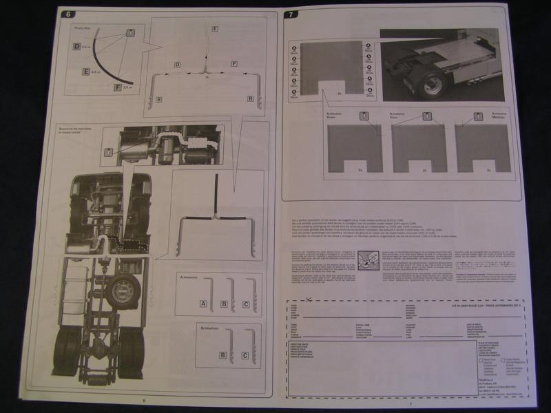 Truck Acessoires Set 2 von Italeri 58210