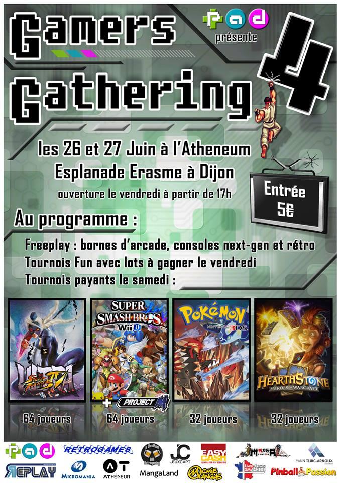 Gamer's Gathering 4 Dijon Gg410