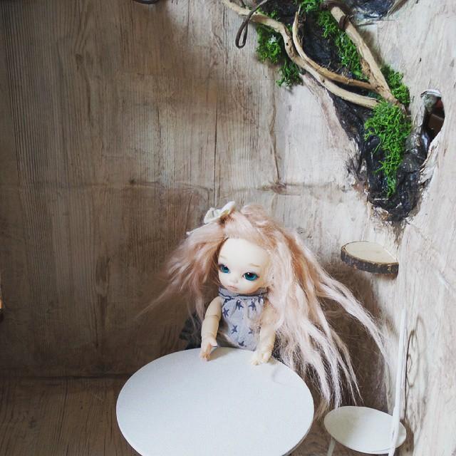 Maison de fée Puki, souche d'arbre Pullip 11295710