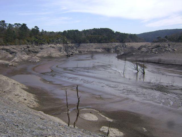 Le fond du lac de Guerlédan B10