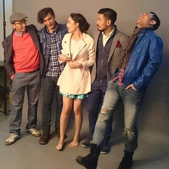 Indonesische filmsterren maken opnames in Leiden 04_neg10