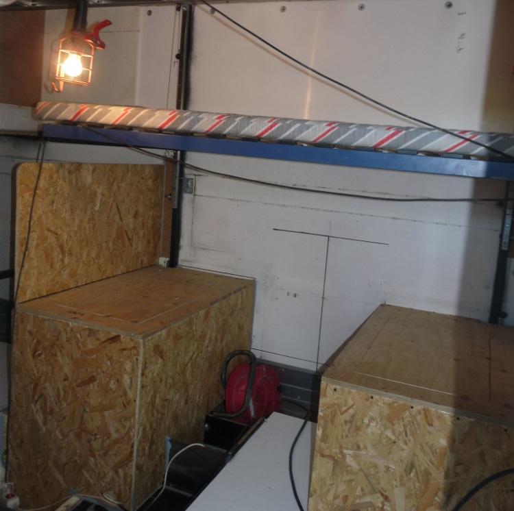 camping car à partir d'un Renault 110-170 4x4 : Ds410