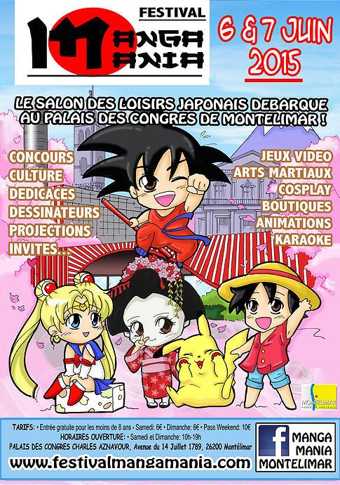 Manga Mania - 6 et 7 Juin 2015 - Montélimar, Palais des Congrès Baf37d10