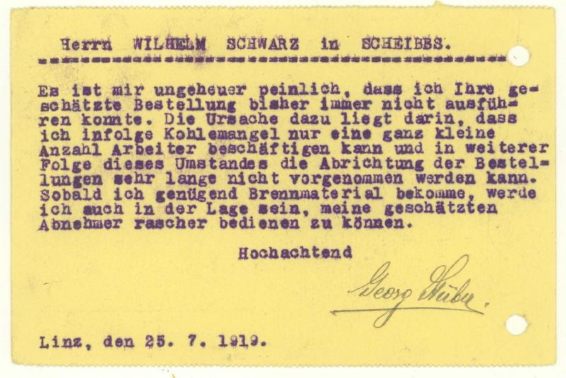 Werbeumschläge und -karten aus Österreich - Seite 3 Ketten11