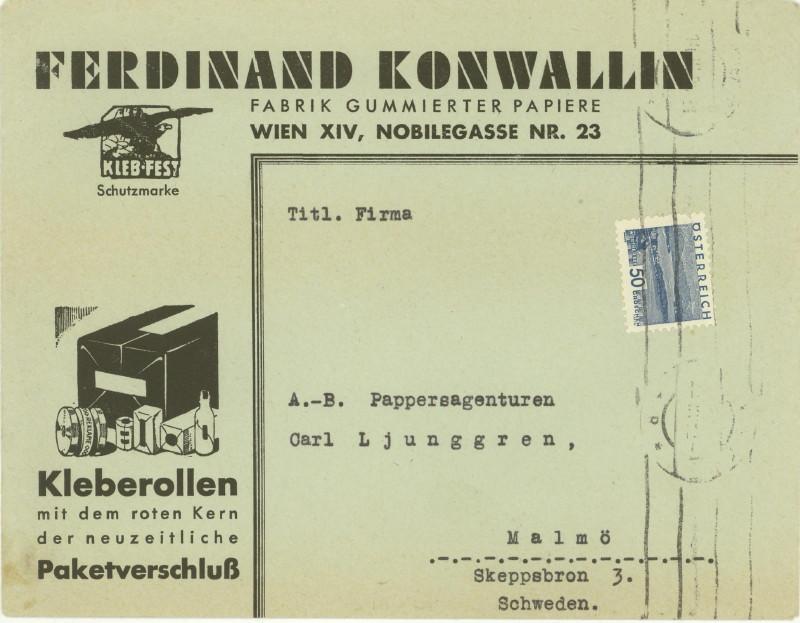 Werbeumschläge und -karten aus Österreich - Seite 2 Klebeb10