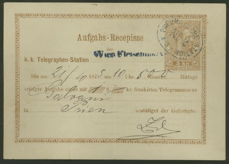 Telegramm - Aufgabebescheine Ta_5b_13
