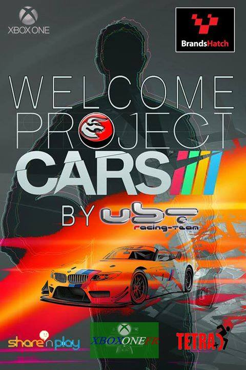 Event Welcome Project Cars by UBT 11087010