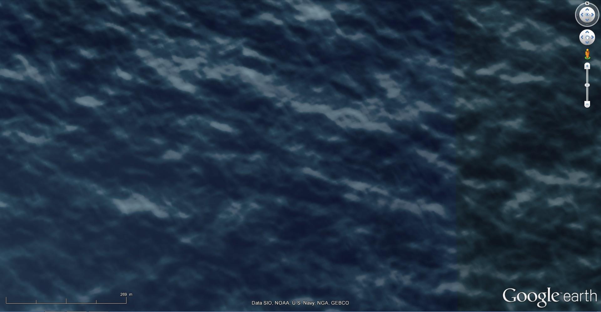 Disparition d'une île (Minamitorishima) - Océan Pacifique 2015-021
