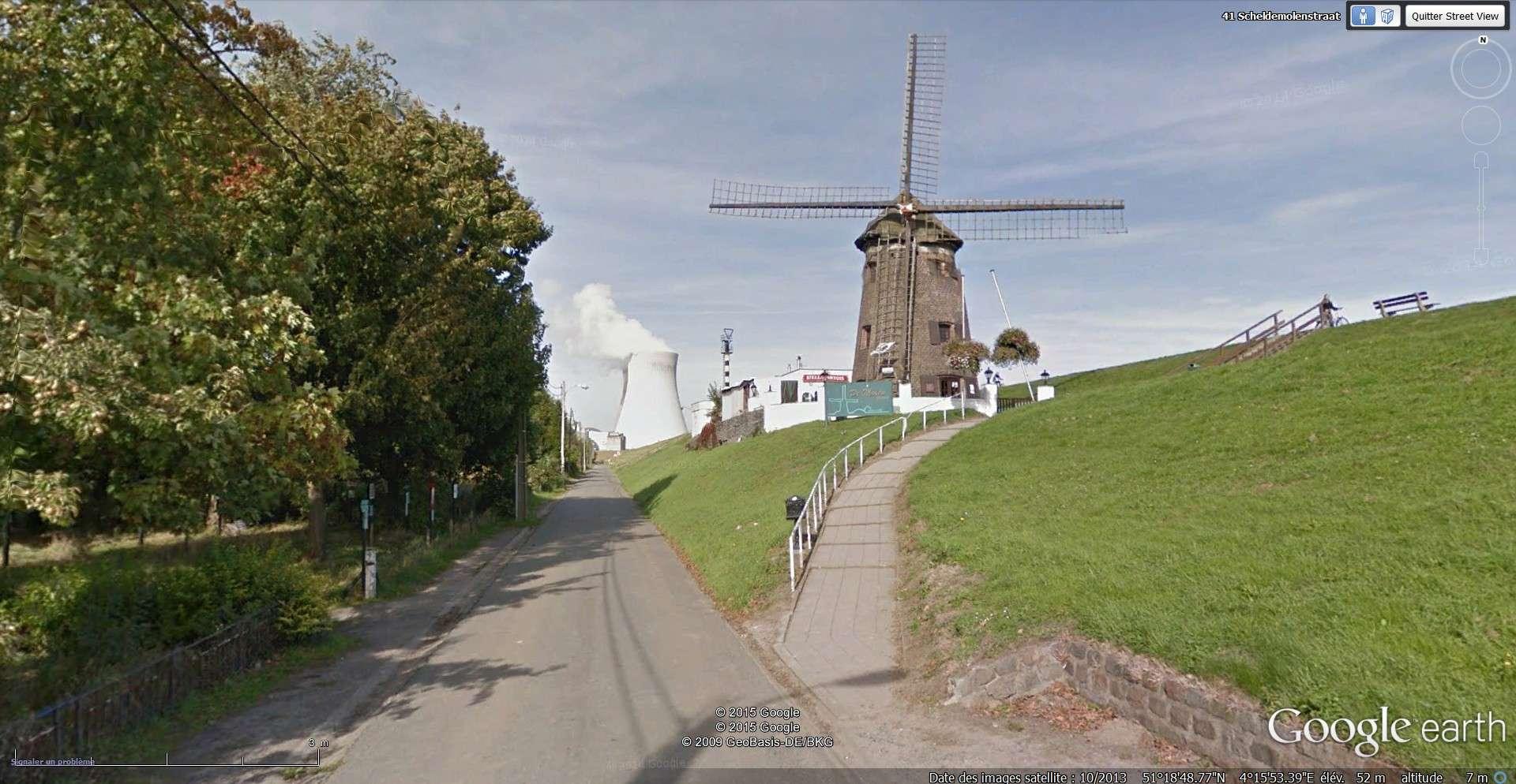 Les étranges graffitis d'un village fantôme. Doel en Belgique 2015-145