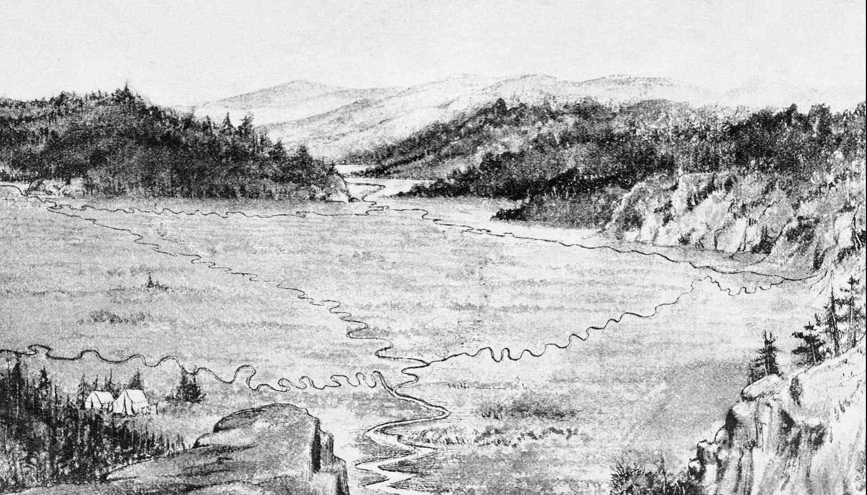 La rivière qui coule dans deux océans - Wyoming - USA 2015-149