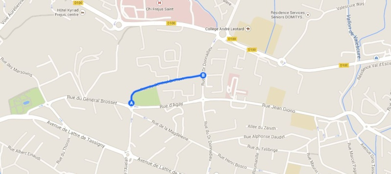 Avenue général BROSSET - Fréjus Brosse11