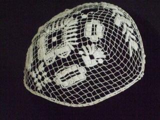 Bonnet ou sous coiffe mode Questembert/Muzillac en filet. Dscf0518