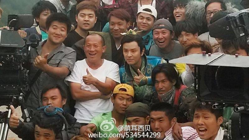 ACTUALIZACIONES SOBRE EL NUEVO DRAMA CHINO Wushen Zhao Zilong (武神赵子龙) donde participa nuestro Kim Jeong Hoon  - Página 2 11334110