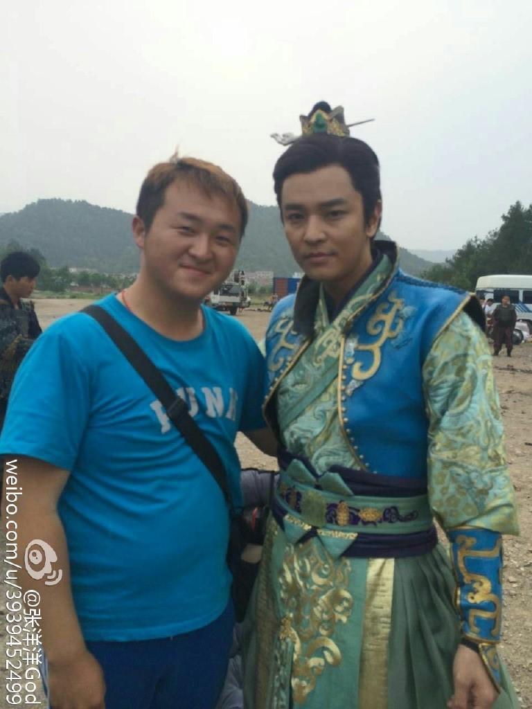 ACTUALIZACIONES SOBRE EL NUEVO DRAMA CHINO Wushen Zhao Zilong (武神赵子龙) donde participa nuestro Kim Jeong Hoon  - Página 2 Eacf4610
