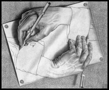Illusions et travaux d'Escher Illusi21