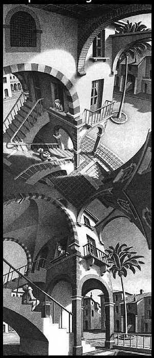 Illusions et travaux d'Escher Illusi26