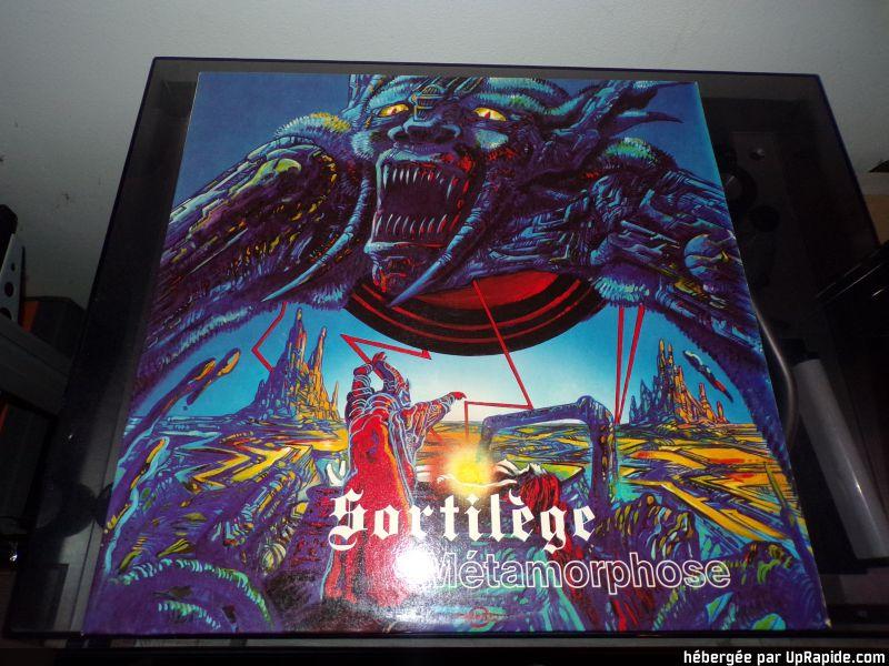 """SORTILEGE  """"Metamorphose""""  (1984) 118-2810"""