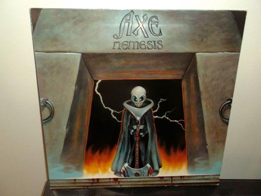 AXE ''Nemesis''  (1983) Axe110