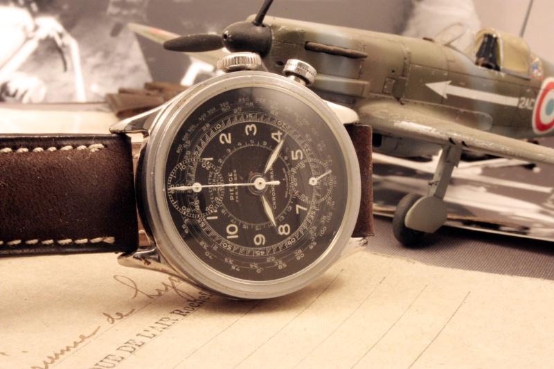 Chronographe Pierce 134 mono, restauration terminée ! P510