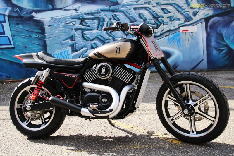 The battle of the Kings sur Street 750  Harley10