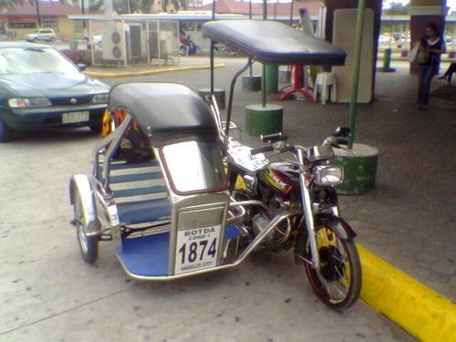 quelques side cars originaux !! Trikep10