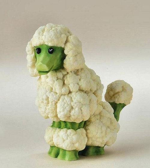 Tạo hình động vật ngộ nghĩnh từ rau, củ quả 10-32310