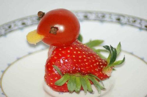 Tạo hình động vật ngộ nghĩnh từ rau, củ quả 11-27110