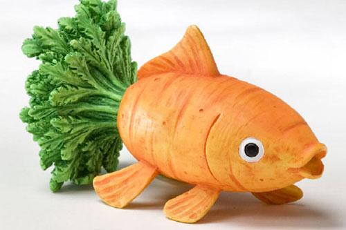 Tạo hình động vật ngộ nghĩnh từ rau, củ quả 15-25210