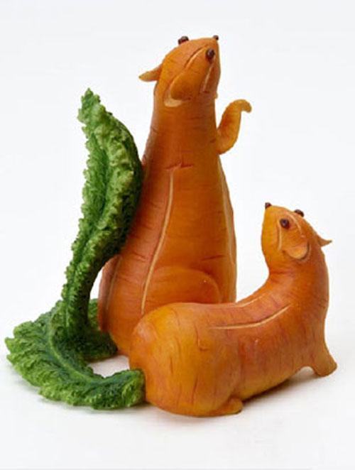 Tạo hình động vật ngộ nghĩnh từ rau, củ quả 16-85010