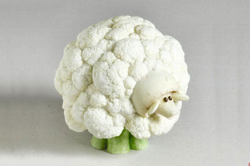 Tạo hình động vật ngộ nghĩnh từ rau, củ quả 4-411010