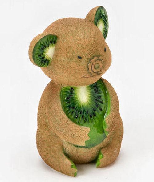 Tạo hình động vật ngộ nghĩnh từ rau, củ quả 5-469610