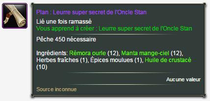 Le leurre Super Secret de l'Oncle Stan Plan11